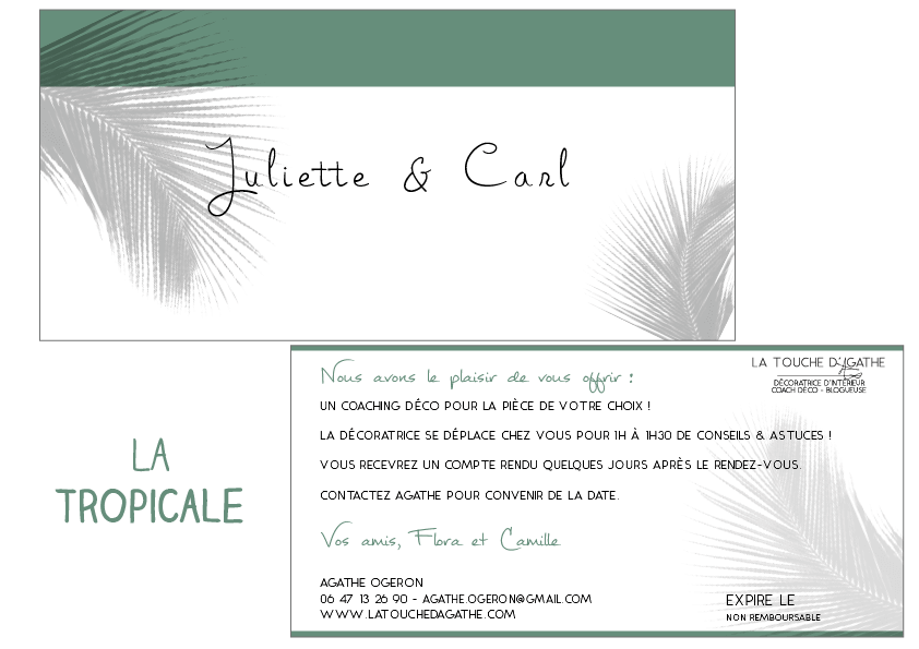 tropicale-carte-cadeau-poitiers-offrir-coaching-decoration-deco-agathe-ogeron-decoratrice-poitiers-vienne-86