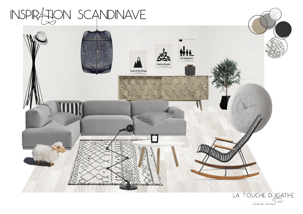 blog la touche d 39 agathe style scandinave mise en ambiance 1. Black Bedroom Furniture Sets. Home Design Ideas
