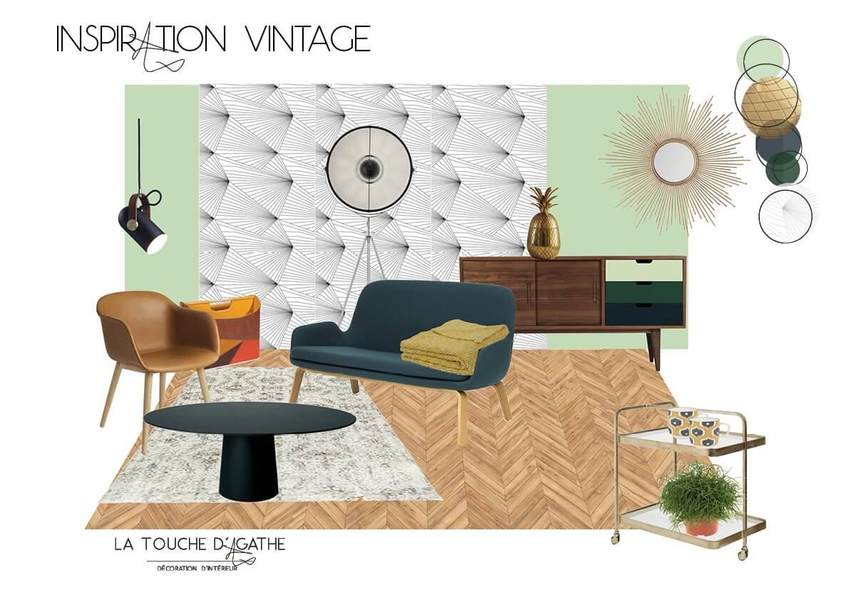 La nostalgie du style vintage