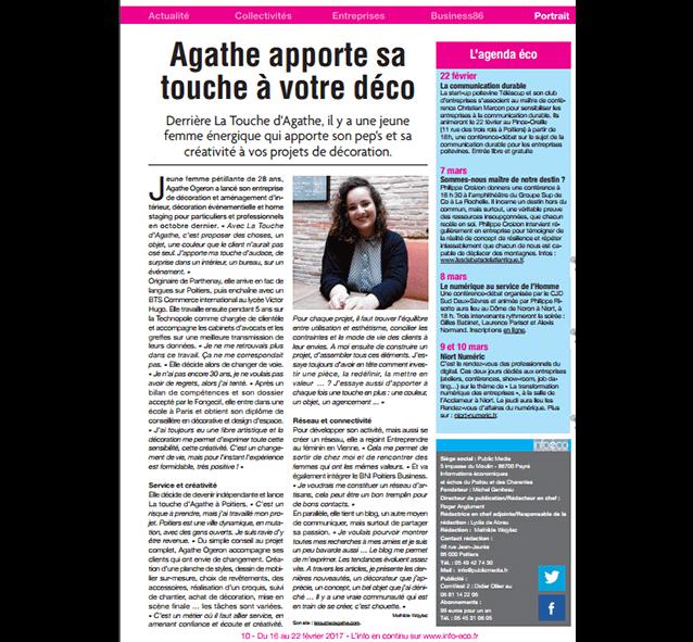 infoeco1-article-presse-a-vous-poitiers-agathe-ogeron-décoratrice-d'intérieur-aménagement-vienne-poitou-charentes-architecte-intérieur-min-min-min