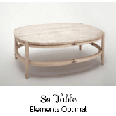 So table